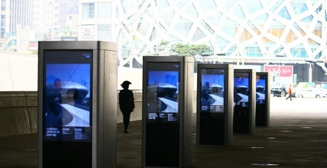 Interactive Kiosks in Newport